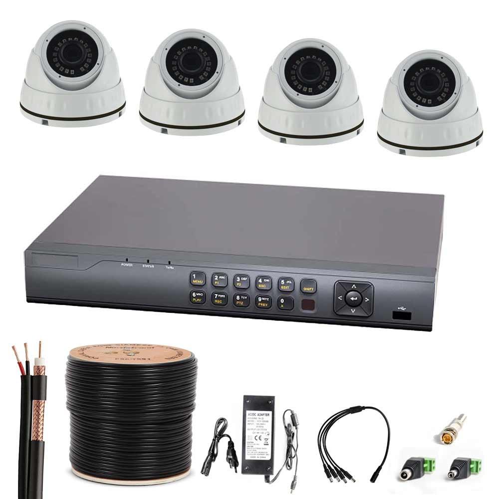 Fein Kabelloses überwachungssystem Für 4 Kameras Galerie ...